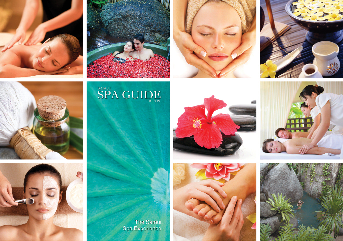 Samui Spa Guide is an up-market, specialist-vehicle perfect for promoting quality spas to thousands of visitors to Samui every month